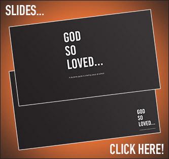 God So Loved Slides